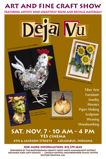 Poster for Dejavu Art Show 2009