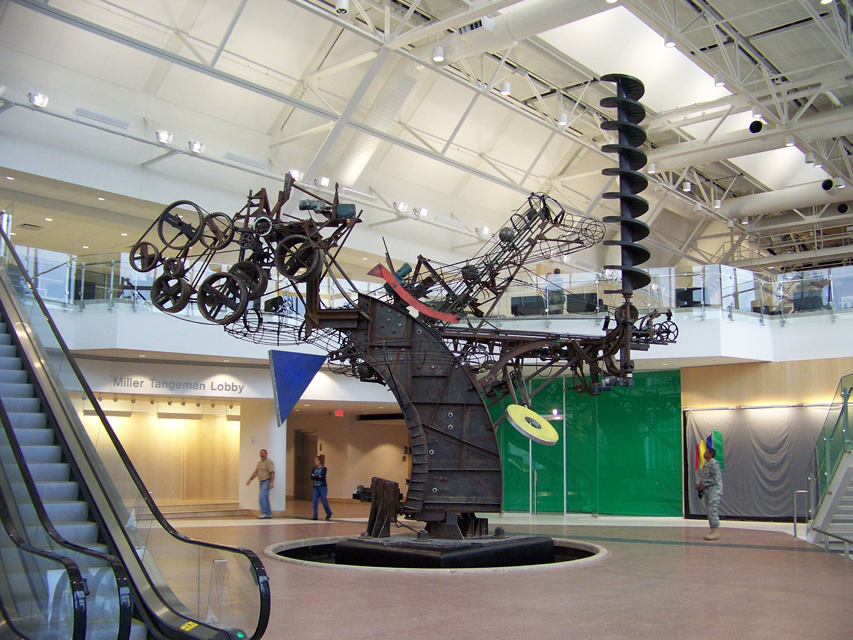 Chaos Sculpture by Jean Tinguely