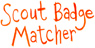 scout badge matcher