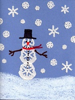 Doily Snow                               Man Card